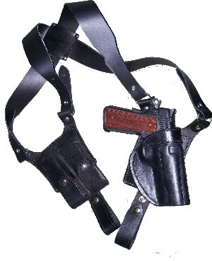 Next Holster Ambush - Leather Shoulder Holster